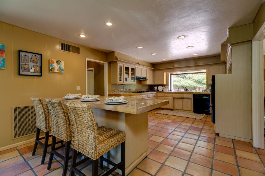 Kitchen in Ojai Horse Property