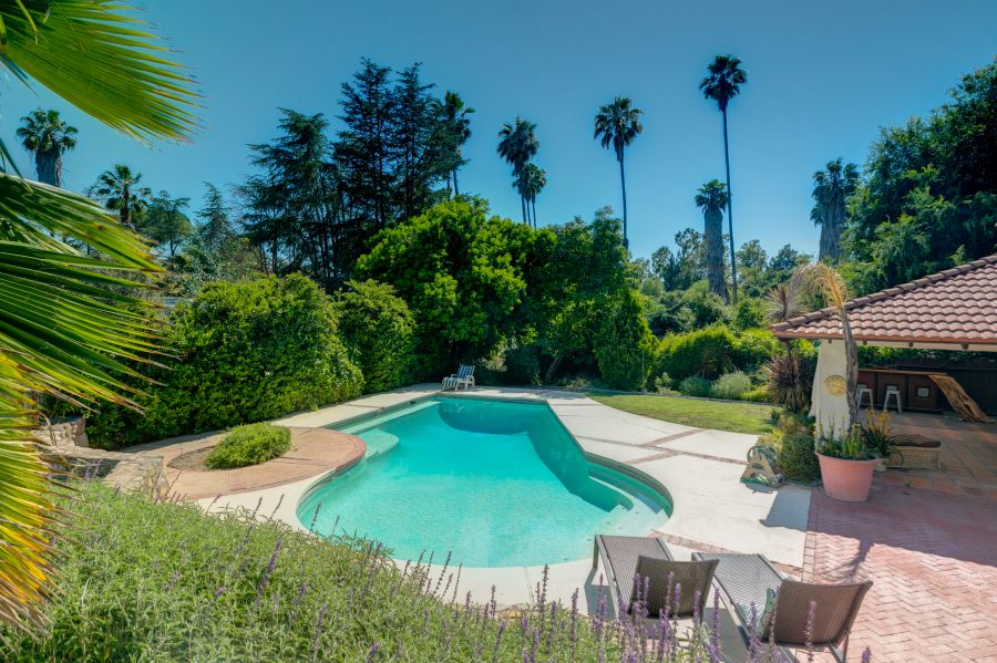 Swimming Pool at Ojai Home for Sale