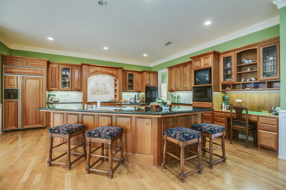 kitchen in ojai home for sale