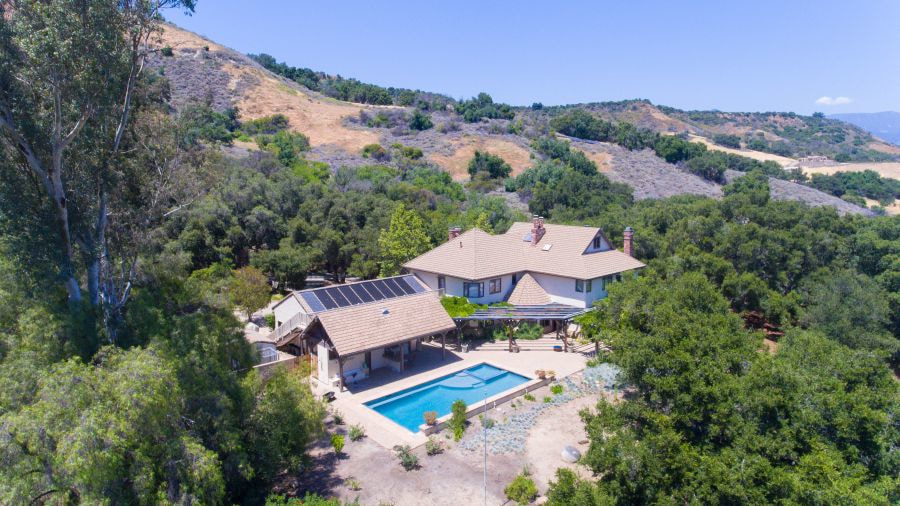 five bedroom home in ojai