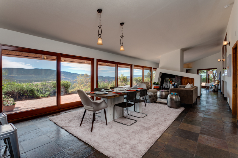 Hilltop home for sale in Ojai