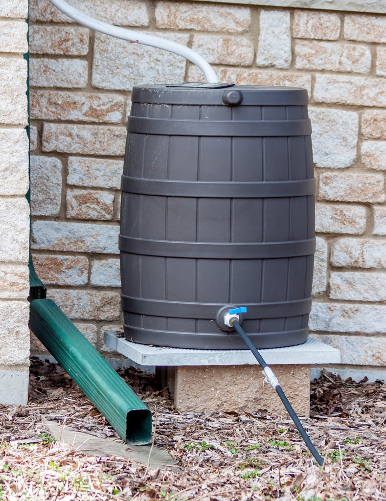 Save Water with Rain Barrels