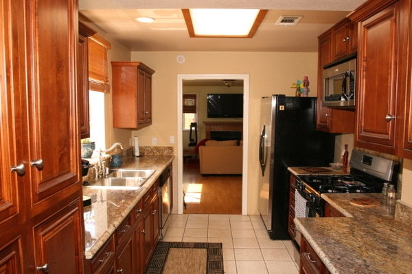 Remodeled Kitchen in Oak View Home for Sale