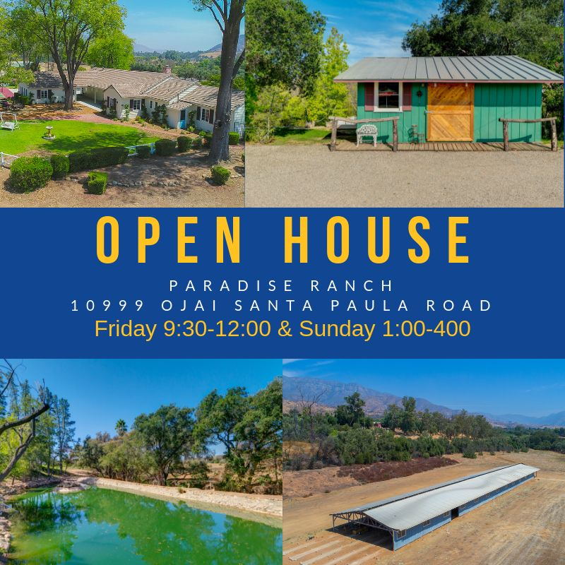 upper ojai open house