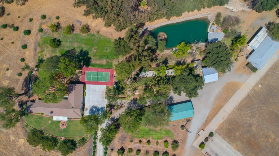 Aerial View of Paradise Ranch